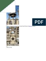 Veleta y Campana en La Azotea de La Catedral Saint