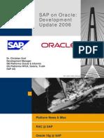 SAP on Oracle
