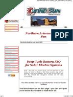 Deep Cycle Battery FAQ