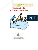 Manual Procedimentos Estados Agudos Homeopatia