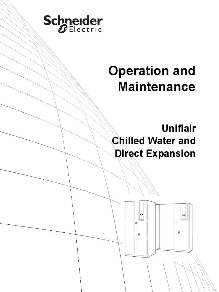 Uniflair Manual   Short Message Service   Water Heating