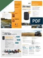Spot Trace Brochure Can