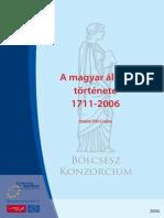 BK - A Magyar Allam Tortenete 1711-2006