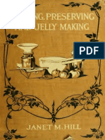 Canning, Preserving, Jelly Making
