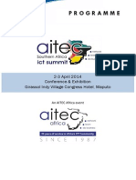 Programme AITEC Southern Africa ICT Summit English