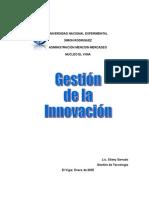 GESTIÓN DE LA INNOVACIÓ1
