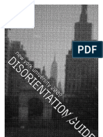 nyu disorientation guide 2009
