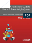 A Hitchiker's Guide to Microsoft StreamInsight Queries