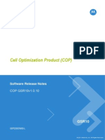 Software Release Notes Cell Optimization Product (COP)GSR10v1.0.10