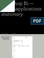 140311 Workshop Stationary