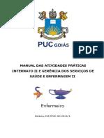 MANUAL DAS ATIVIDADES PRÁTICAS GERENCIA E INTERNATO II - 2014-1