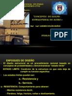 TEMA 3 CONCEPTOS DEL DISEÑO ESTRUCTURAL DE ACERO (1)