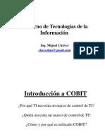 Auditoria - Gobierno de TI