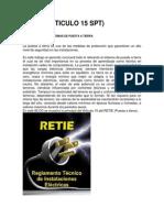 Retie Art. 15 Spt