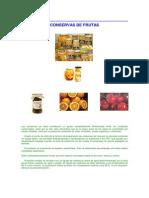 Conservas de Frutas