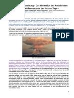 Strahlenfolter Stalking - TI - Frank Gräsel - Die Neue Weltordnung - Die Waffensysteme der letzten Tage