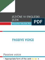 Jezične IV Engleski jezik