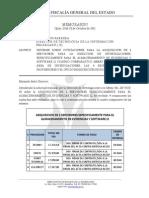 Memo-Informe Sobre Cotizaciones Para La Construiccion de 3 Puntos de Datos, 1 Punto de Voz y 1 Puntos Electrico