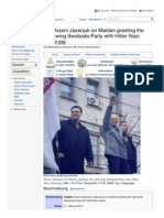 Russland und Ukraine - Arseni Jazenjuk (Yatsenyuk) - Maidan Hitler-Gruß