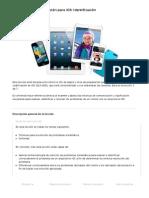 Formación de cualificación para iOS- Identificación