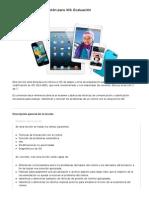 Formación de cualificación para iOS- Evaluación