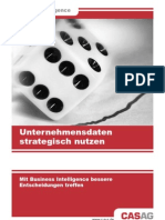 Business Intelligence Flyer CAS AG