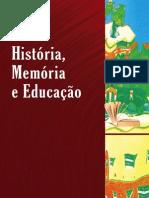 Historia Memoria Educacao