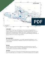 PRINCIPALES RÍOS DE EL SALVADOR