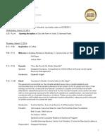 Building Resilience Workshop v Schedule