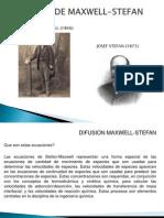 Difusion de Maxwell-stefan