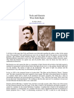 Einstein and Tesla Both Correct on Aether