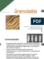 Forma farmacêutica Granulados e comprimidos para impressão