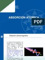 absorción atómica
