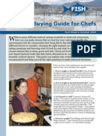 Seafood Buying Guide for Chefs