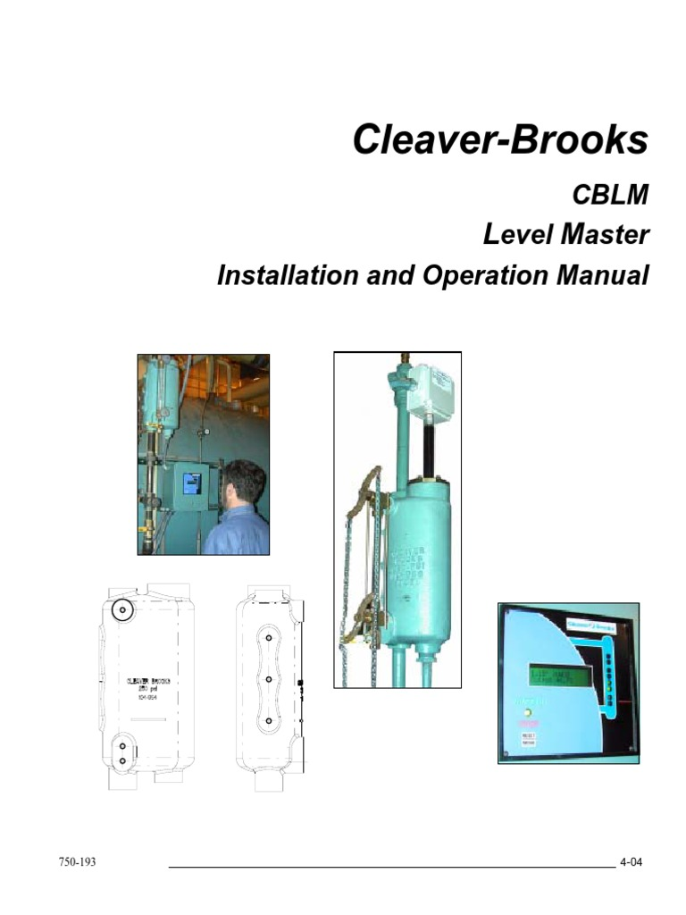 Cleaver Brooks Wiring Schematic Diagrams Diagram 750 193levelmaster Electrical Relay Burner