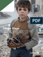 UNICEF Report Syria Under Siege