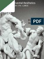 Evental Aesthetics Vol. 2 No. 1, Premodern Aesthetics