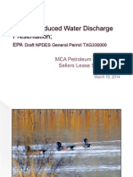 Produced Water Discharge Presentation