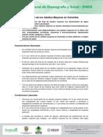 Situacion de Los Adultos Mayores en Colombia
