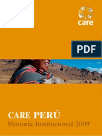 Memoria 2009 Care Peru
