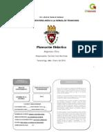 Planeación de Ética 2014