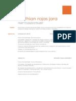 Cristhian Rojas Jara-curriculum