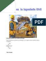 110894499 El Agua en La Ingenieria Civil Quimicaaa