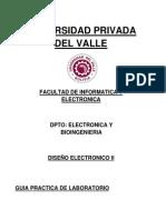 DISEÑO ELECTRONICO II_2013