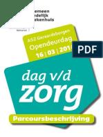 A.S.Z. Geraardsbergen zet deuren open 'Dag van de zorg'…
