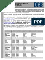 Lista Sustentantes Inconsistencia Datos 2013-2