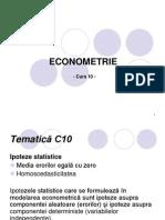 Curs10 Econometrie Ipoteze