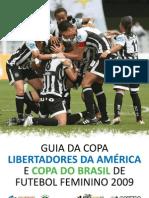 Santos - Guia Feminino ( Libertadores e Copa do Brasil )