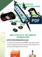 Administracion de Medicamentos Intramuscular