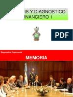 Analisis y Diagnostico Financiero 1 Estructura Financiera
